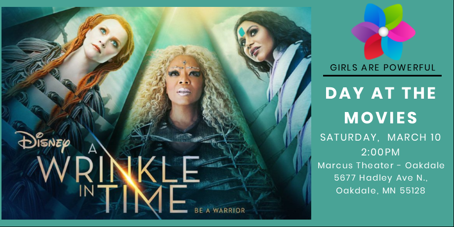 GRP Day at the Movies: A Wrinkle In Time @ Marcus Oakdale Cinema | Oakdale | Minnesota | United States