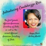 Black History Month: Today We Celebrate Condoleezza Rice