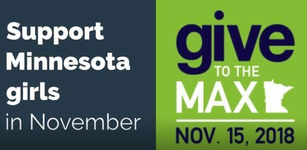 Support Give to the Max Event this November 15! @ Girls Are Powerful Organization  | Saint Paul | Minnesota | United States